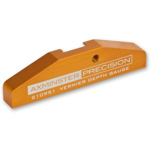 Axminster Precision Vernier Caliper Depth Gauge Attachment