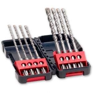 Bosch 8 Piece SDS+ Drill Set In Tough Box
