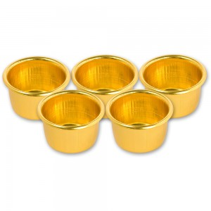 Craftprokits Candle Cups (Pkt 5)