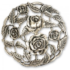 Craftprokits Pewter Lid - Rose