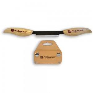 Flexcut KN25 Drawknife with Sheath