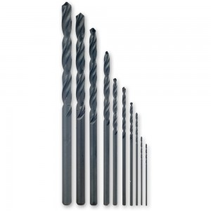 Proxxon 10 Piece HSS Twist Drill Set