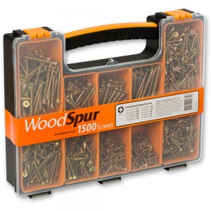 WoodSpur Pozidrive Premium Wood Screw Trade Pack