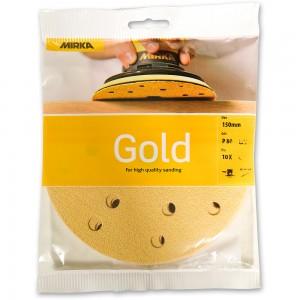 Mirka Gold Abrasive Discs 150mm