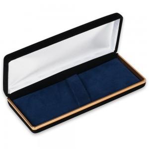 Black Velvet Double Pen Case