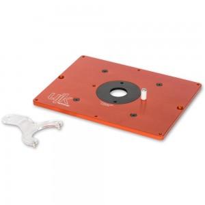 UJK Technology 10mm Aluminium Router Table Insert c/w Universal Base