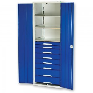 bott Verso Kitted Cupboard 3 Shelves 8 Drawers