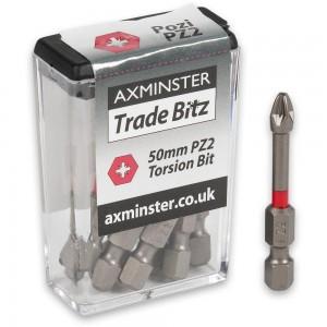 Axminster Trade Bitz Torsion Screwdriver Bits
