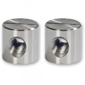 Axminster Bed Bolt Nuts (Pkt 2)