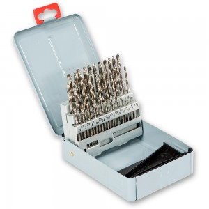 50 Piece HSS Ground Drill Bit Set