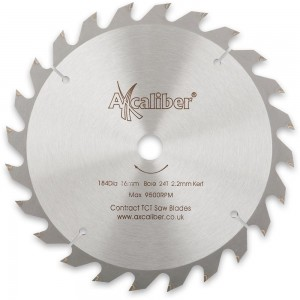 Axcaliber Contract 184mm TCT Saw Blades