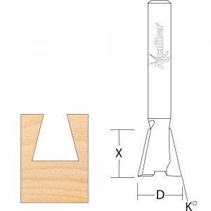 Axcaliber Dovetail Cutters