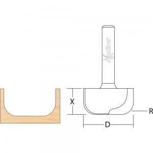 Axcaliber Dish Carving Cutter
