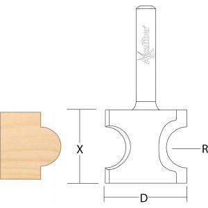 Axcaliber Staff Bead & Nosing Cutter