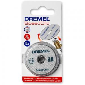 Dremel 35mm Fibreglass Reinforced Cut-Off Wheels (Pkt 5)