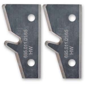Axcaliber Knives for 45deg Lock Mitre Cutter Head