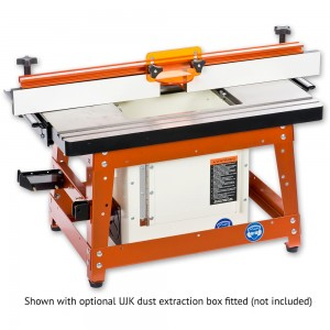 UJK Technology Compact Router Table with Cast Iron Top