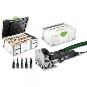 Festool DOMINO DF 500 Q-Plus Jointer & Assortment 1060 - PACKAGE DEAL