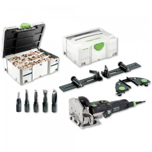 Festool DOMINO DF 500 Q-Set Jointer & Assortment 1060 - PACKAGE DEAL
