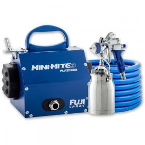 Fuji Mini-Mite 3 Platinum Turbine Unit c/w T70 or T75 Spray Gun - PACKAGE DEAL