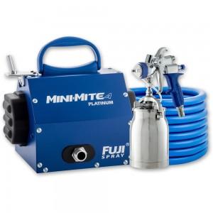 Fuji Mini-Mite 4 Turbine Platinum Unit c/w T70 or T75 Spray Gun - PACKAGE DEAL