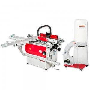 Axminster AWC4 Combination Machine & FM300BC Extractor - PACKAGE DEAL