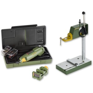 Proxxon FBS 240/E Multitool, Drill Stand &  Machine Vice - PACKAGE DEAL