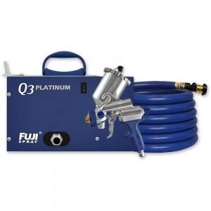 Fuji Q3 Platinum Turbine Unit c/w G-Xpc Spray Gun - PACKAGE DEAL