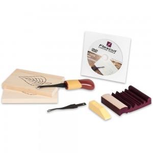 Flexcut Beginner 2-Blade Craft Carver Set Package