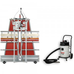 Safety Speed C4 Panel Saw & NV750 Workshop Vacuum Extractor - PACKAGE DEAL