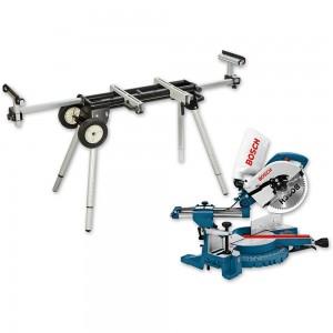 Bosch GCM 10 S 254mm Slide Mitre Saw & Stand