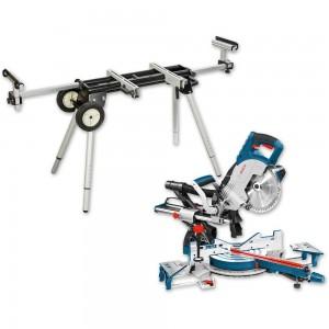 Bosch GCM 8 SJL 216mm Slide Mitre Saw & Stand