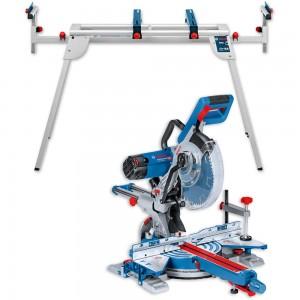Bosch GCM350-254 Slide Mitre Saw & GTA2600 Stand