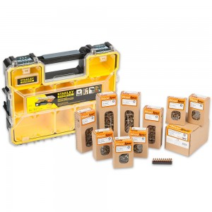 Woodspur Pozi Trade Pack & FatMax Pro Organiser