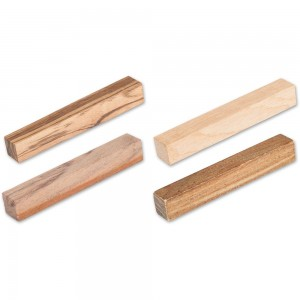 Craftprokits Wooden Pen Blanks Mixed Pack of 40