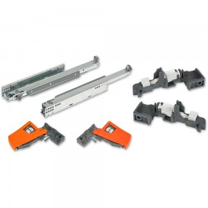 Blum MOVENTO 40kg Drawer Runners 450mm Complete Package