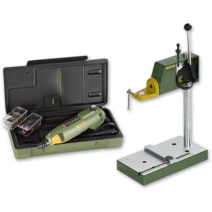 Proxxon FBS 240/E Drill Grinder & MB 140/S Stand - PACKAGE DEAL