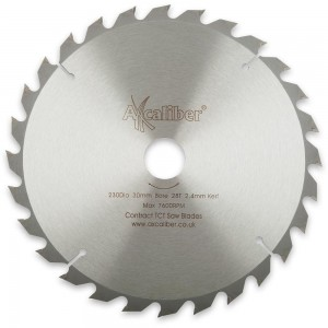 Axcaliber Contract 230mm TCT Saw Blades