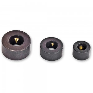 Axminster 3 Piece Dowel Drill Stop Collar Set