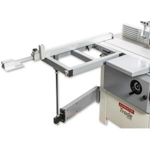 Sliding Table Frame with Support for Axminster AT200SM Spindle Moulder