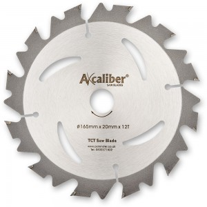 Axcaliber Contract 165mm TCT Saw Blades