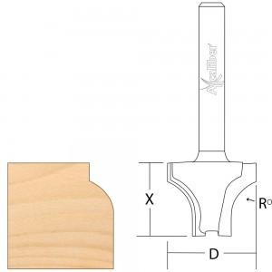 Axcaliber Sash Bar Ovolo Router Cutter