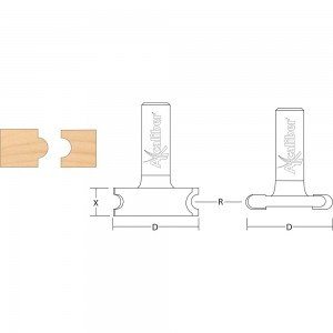 Axcaliber Flute and Bead Cutter Set