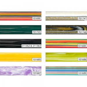 Decorative Polyester Round Pen Blanks