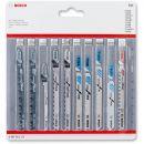 Bosch Wood, Metal & Plastic Jigsaw Blade (Pkt 10)