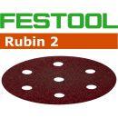 Festool 80 Grit 90mm Sanding Disc Rubin (pkt 50)