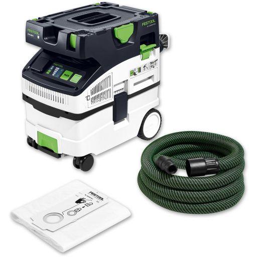 Festool CTM CLEANTEC MIDI Dust Extractor (Bluetooth) 230V