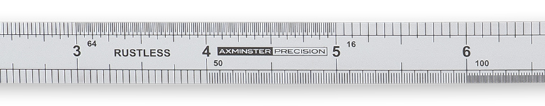 Axminster Precision Flexible Rule