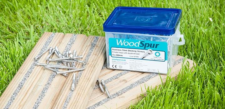 WoodSpur Stainless Steel Decking Screws