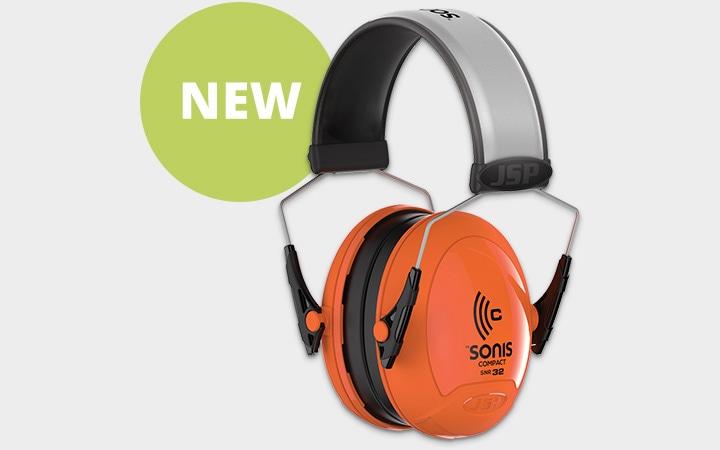 JSP Sonis Compact Hi Vis Ear Defenders